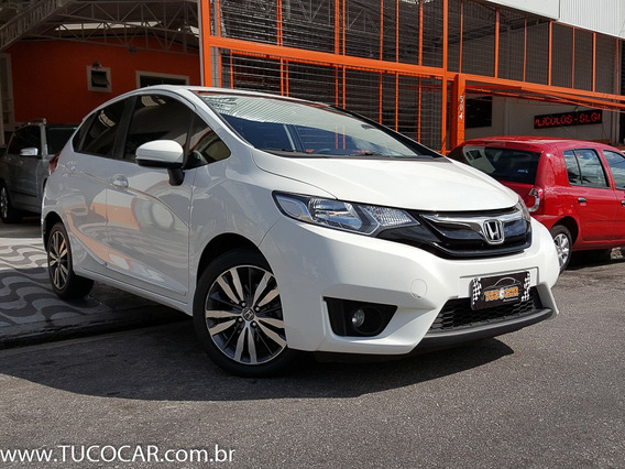 Fit Ex 2015 Automático + Único Dono + Revidado Na Honda.