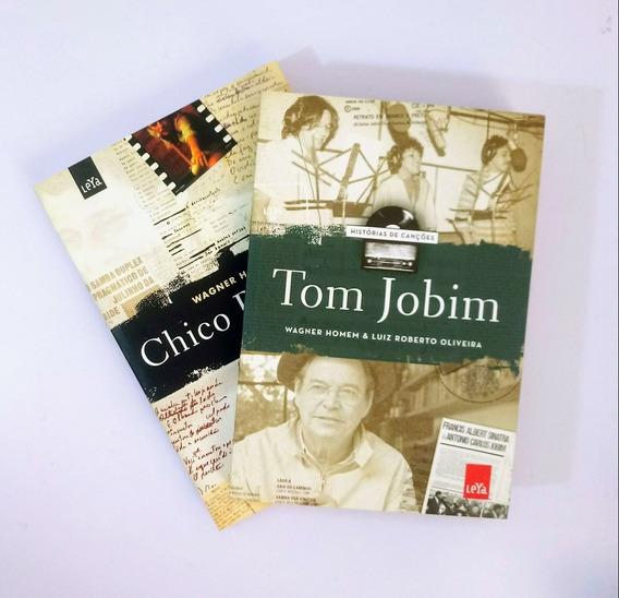 Livro - Box Chico Buarque E Tom Jobim - Histórias De Canções