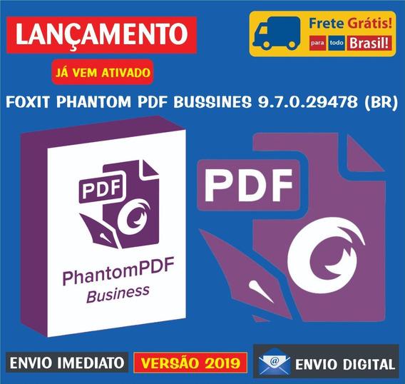 Foxit Phantompdf Business 9.6 (br) / Envio Digital Imediato