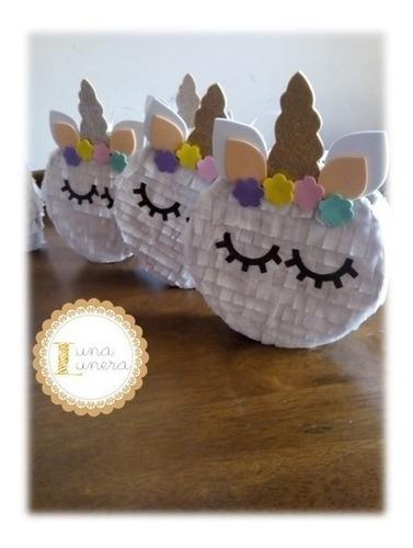 Imagen 1 de 10 de Cumpleaños Unicornio -invitación, Bolsas, Piñata, Souvenir
