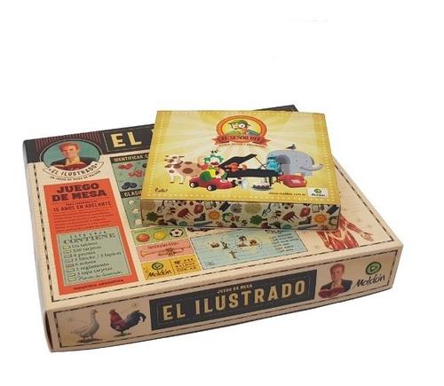 Combo Juegos De Mesa El Ilustrado + El Sr. Dix