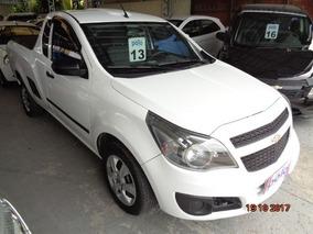 Chevrolet Montana 1.4 Mpfi Ls Cs 8v 2013 Branca Flex