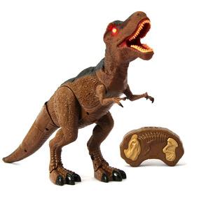 Dinossauro Rex Controle Remoto Som Luz -mc18006