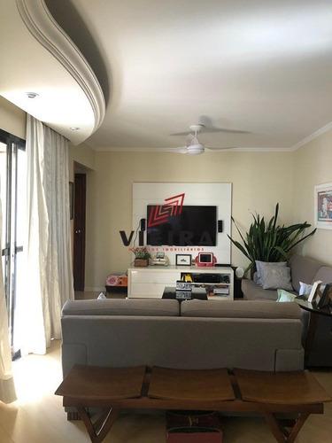 Imagem 1 de 13 de Apartamento 03 Suítes Com Varanda Nos Ambientes!! - 3542-1