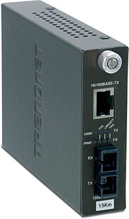 Trendnet Inteligente 10/100base-tx A 100base-fx Single Mode