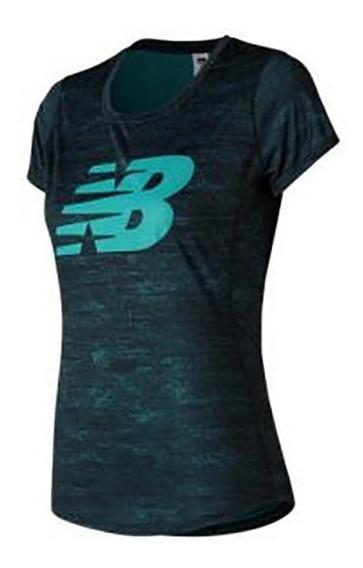 Camiseta Remera New Balance Accelerate Printed Dama