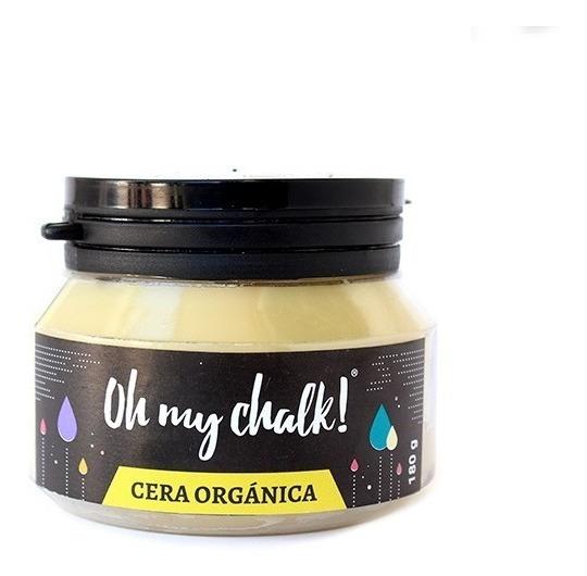 Cera Orgánica Oh My Chalk! 180gr Belgrano Subte D Juramento