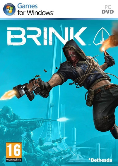 Game Pc Brink - Original - Novo - Lacrado