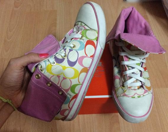 Tenis Coach Bonney Colorized Boot 100% Originales!!