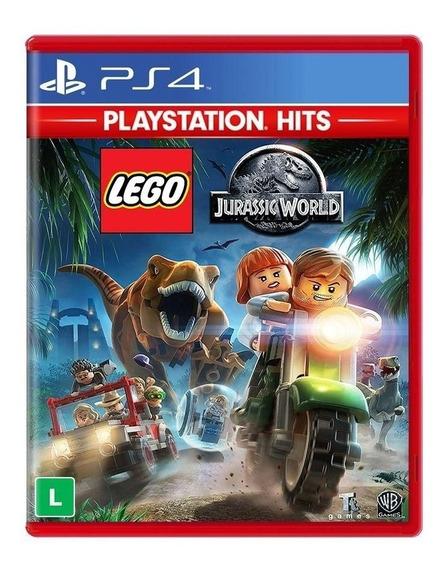 Jogo Lego Jurassic World - Ps4 - Mídia Física