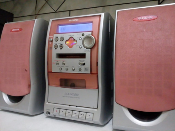 Microsystem Aiwa Modelo Lcx Md 210 Japan