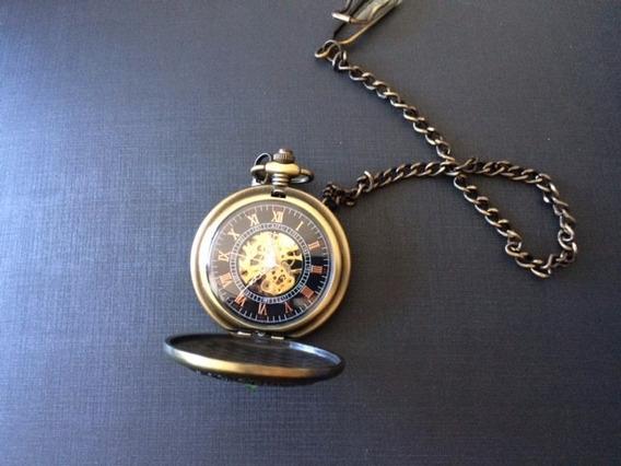 Relógio De Bolso Elegante