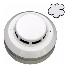 01 Pç - Detector De Fumaça 2 Sensores Profissional Incêndio