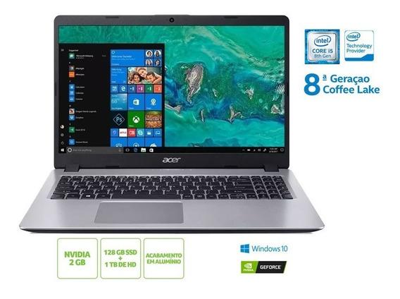 Notebook Acer A515-52g-50nt I5 8265u 8gb 128 Ssd 1tb Hd Nf