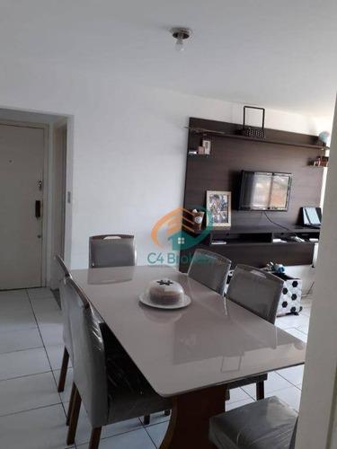 Apartamento Com 2 Dormitórios À Venda, 78 M² Por R$ 330.000,00 - Vila São Geraldo - São Paulo/sp - Ap3563