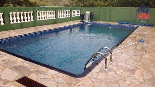 Chácara Com 2 Dormitórios À Venda, 1400 M² Por R$ 400.000,00 - São Vicente - Mairiporã/sp - Ch0361