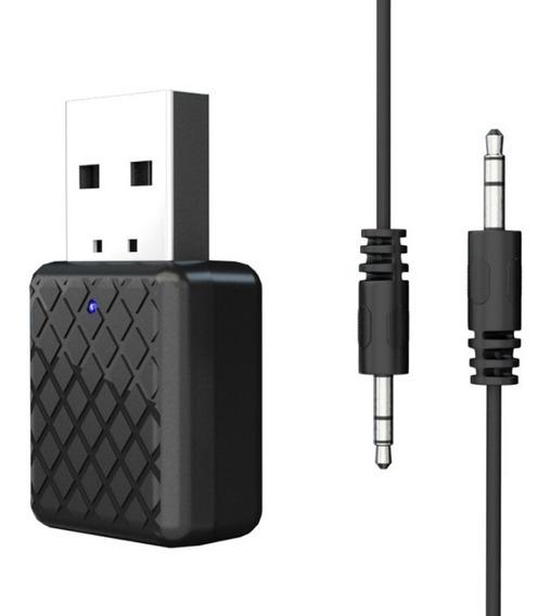 Transmissor E Receptor De Áudio 2em1 Bluetooth 5.0 Tv/carro