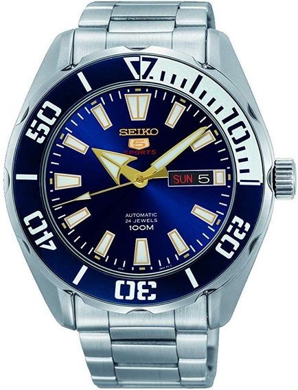 Reloj Seiko Automático Sports 5 Srpc51kq Diver Caballero