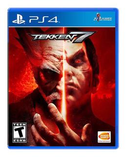Tekken 7 Ps4 Nuevo Y Sellado