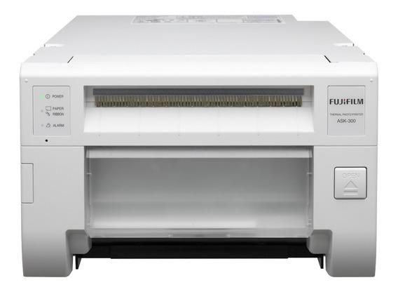 Impressora a cor fotográfica Fujifilm ASK-300 120V branca