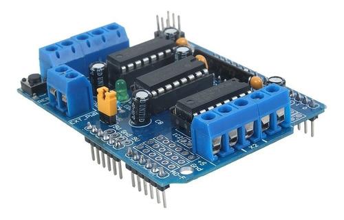 Shield L293d Módulo Puente H Para Motores Dc Servos Arduino