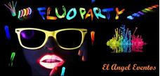 Fiesta Fluo+musica+luces+animadoras+cotillon