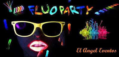 Fiesta Fluor Neon+mini Disco+animación,baile,preadolescentes