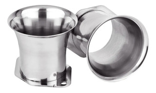 Trompetas Inox Weber Idf Carburador Alt 60 Mm X2 C-shop