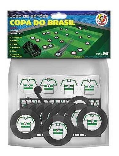 Jogo De Botão Copa Do Brasil 1 Time Completo