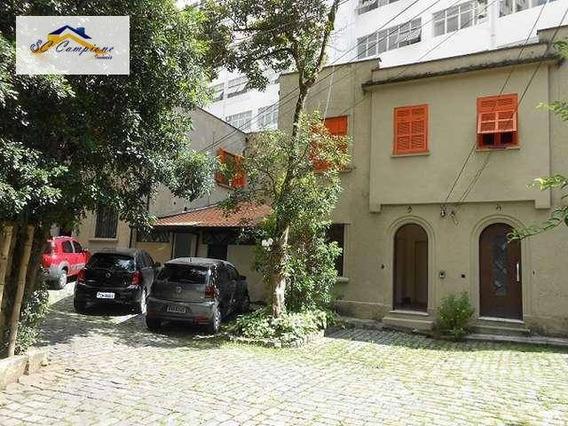 Casa Comercial Para Locação, Higienópolis, São Paulo. - Ca0489