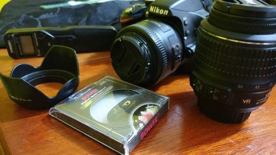 Nikon D3200 18-55m + 35mm 1.8