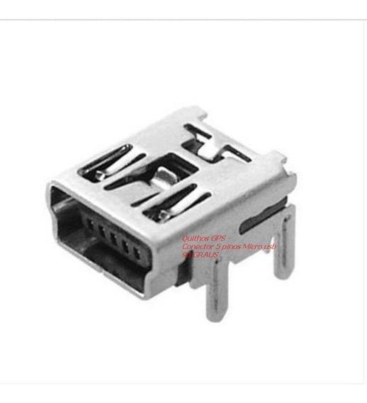 5 Conector Usb Para Controle De Playstation 3 , Play 3 , Ps3