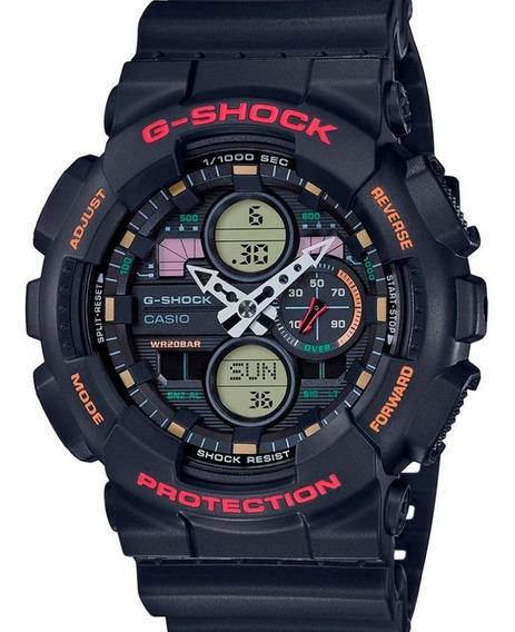 Relógio Casio Masculino G-shock Preto Ga-140-1a4dr