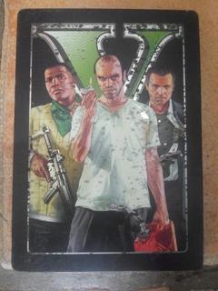 Gta 5. Xbox 360 Caja Metalica Remato