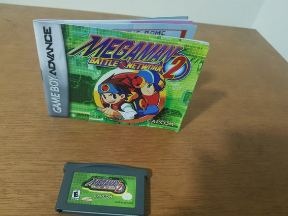 Megaman Battle Network 2 Usada Original Game Boy Advance.