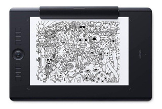 Tableta digitalizadora Wacom Intuos Pro Paper Edition M PTH-660P Black