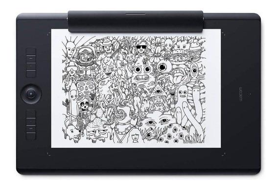 Mesa digitalizadora Wacom Intuos Pro Paper Edition M PTH-660P Black