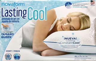 Almohada Novaform Lasting Cool Tamaño Queen Original