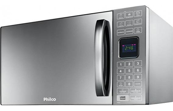 Microondas Philco Pme25 Inox Espelhado 25l 127v