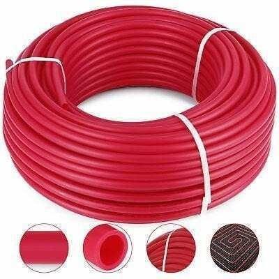1/2 X 300 Pies Pex Tubo Oxígeno Barrera O2 Evoh Rojo Ra-9250