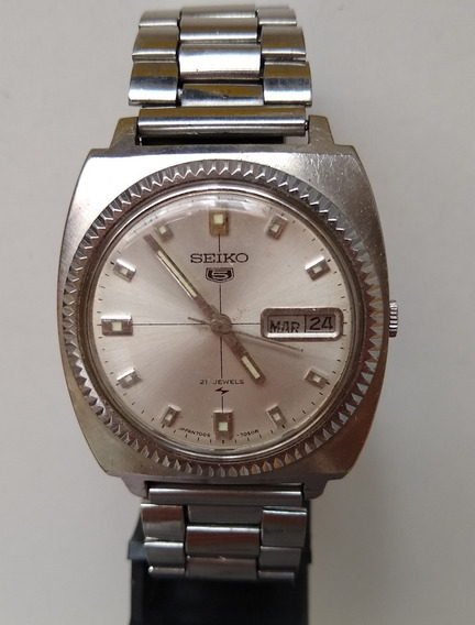 Relógio Masculino Seiko 21 Jewels7006-7012/110513 Japan-m