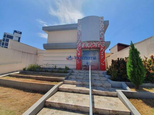 Casa À Venda, 425 M² Por R$ 3.500.000,00 - Vila Ipiranga - Londrina/pr - Ca1345