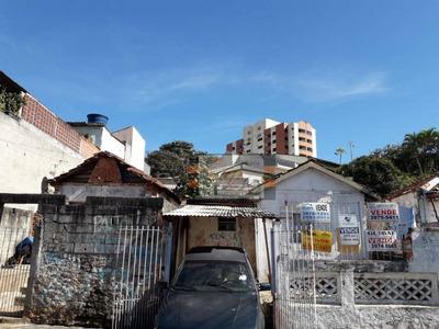 Terreno À Venda, 262 M² Por R$ 350.000 - Vila Pereira Barreto - São Paulo/sp - Te0069