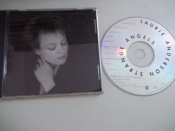 Cd . Laurie Anderson - Strange Angels - Rock Pop Inter
