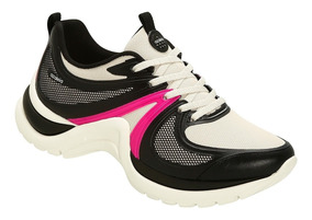 Tênis Azaleia Chunky Sneaker Sem Costura Ugly Shoes Pink