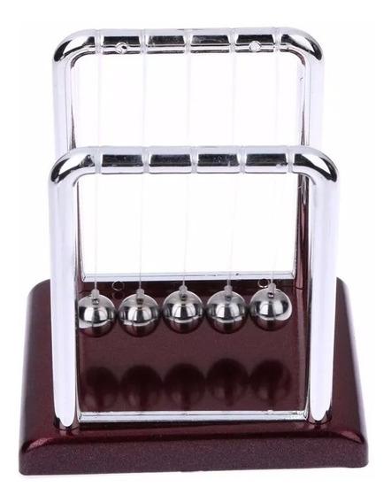 Pendulo De Newton 18 Cm Escritório Decoração Jogo De Bolas