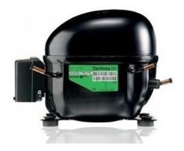 Compresor Danfoss 1/4hp R134 115v Nf9fx 3 Tubos