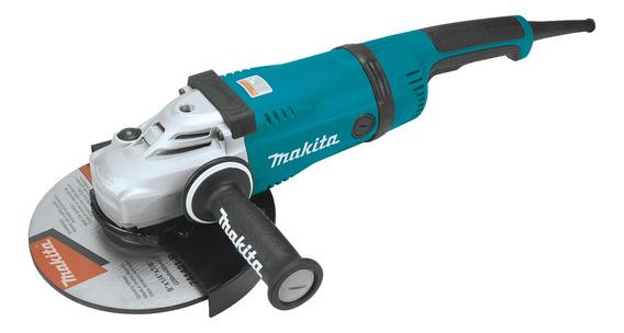 Esmerilhadeira angular Makita GA9040S azul-turquesa 220V