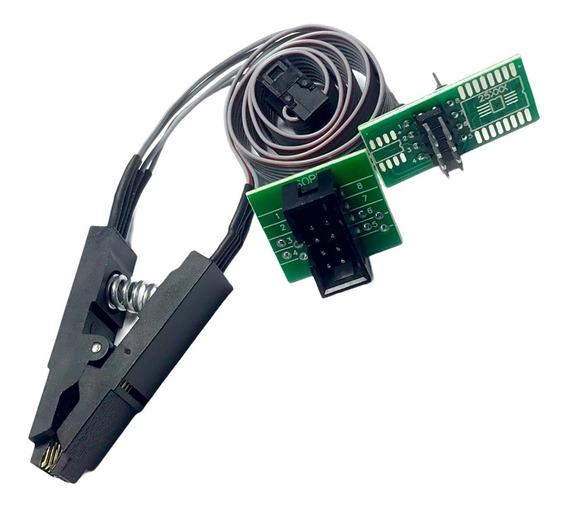 Pinza Soic8 Soic 8 Con Cable Memorias Eeprom Adaptador Ch341