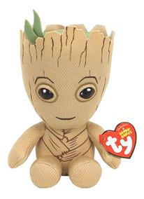 Pelucia Ty Original Baby Bebe Groot Guardioes Galaxia Marvel